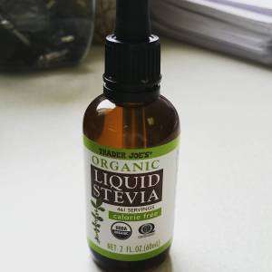 Trader Joe's Liquid Stevia - Instagram @rhonda_writes